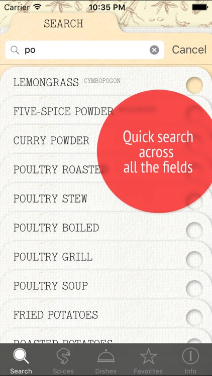 Spices! – Herbs & Seasonings for all Dish Recipes screenshot-4