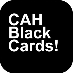 Black Card - For Cards Against Humanity Game Expansion Pack