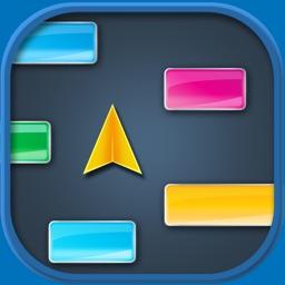 Lay Low for iPad - Avoid the blocks falldown