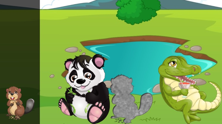 Animals for Toddlers and Kids : puzzle games with pets and wild animals !