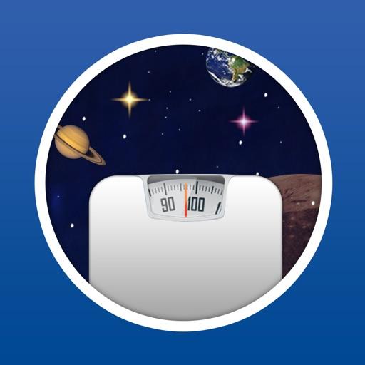 행성별 내 몸무게는
