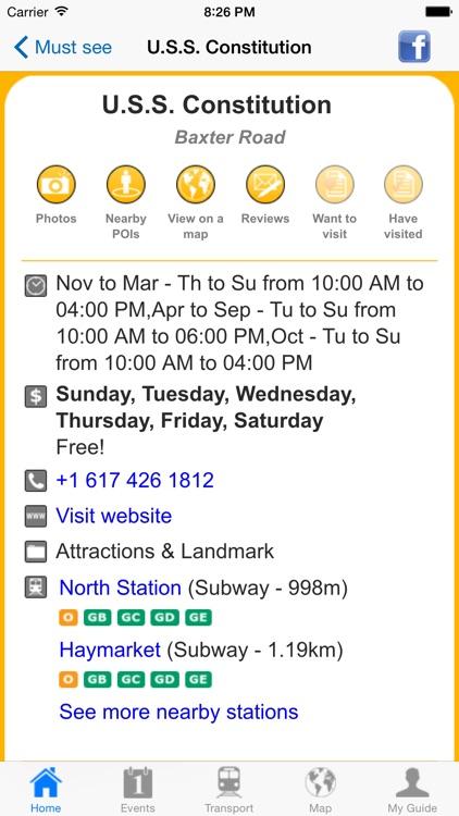 Boston Travel Guide Offline screenshot-4
