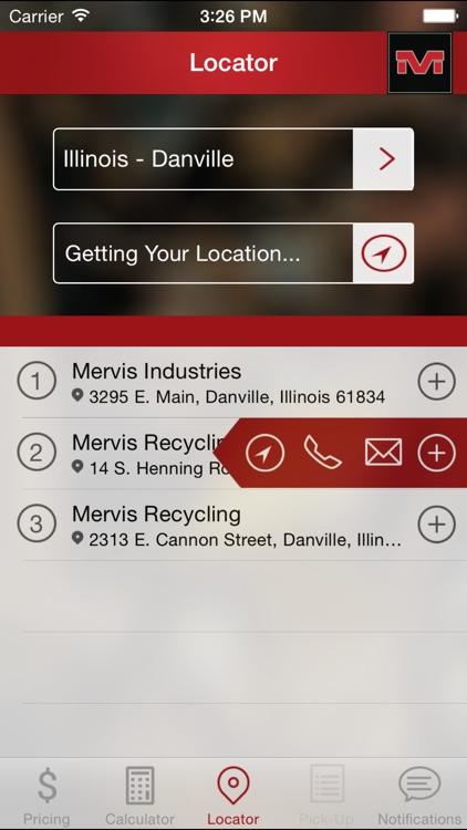 Mervis Scrap App
