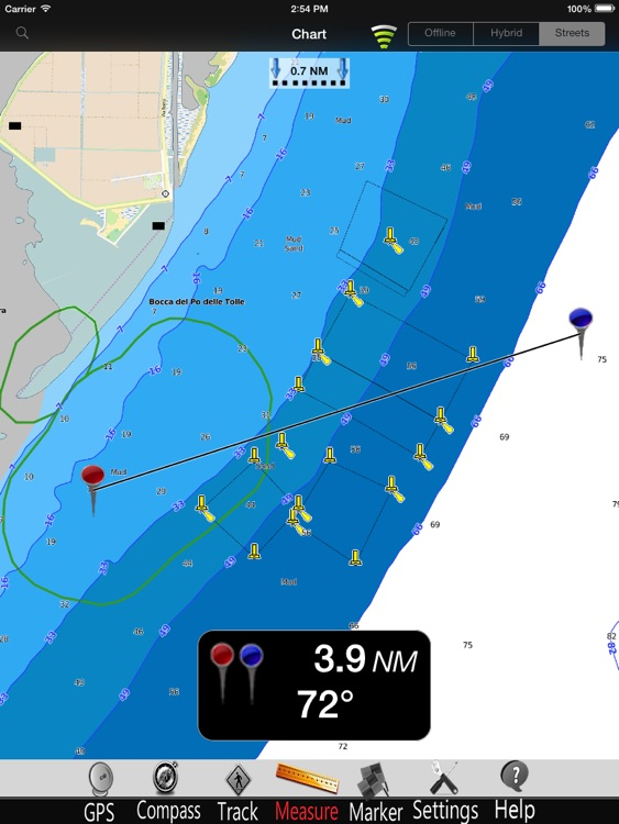 Adriatic N. Nautical Chart Pro
