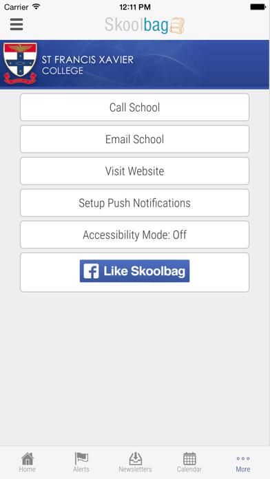 St Francis Xavier College VIC - Skoolbag screenshot four