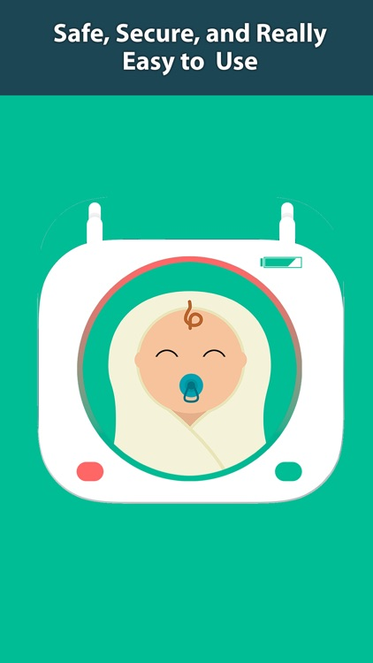 Secure Baby Monitor - Safe Wifi & Bluetooth Video Nanny Camera screenshot-4