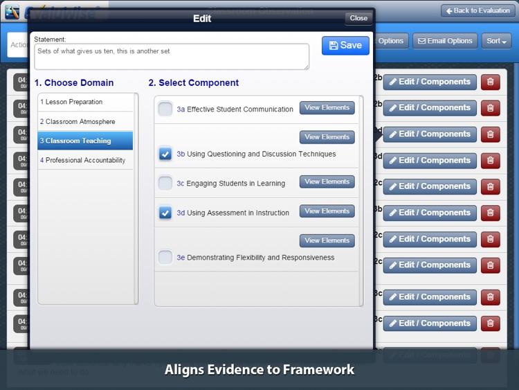 EvaluWise – Teacher Evaluation screenshot-4