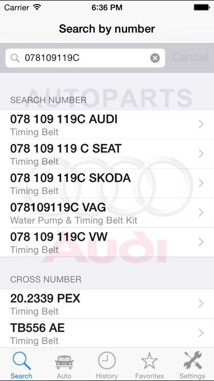 Autoparts for Audi screenshot-4