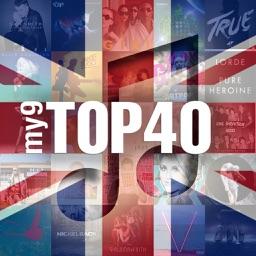 my9 Top 40 : UK music charts