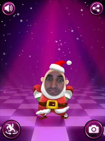 Screenshot #1 for I Am Santa - Dance and Take Pictures