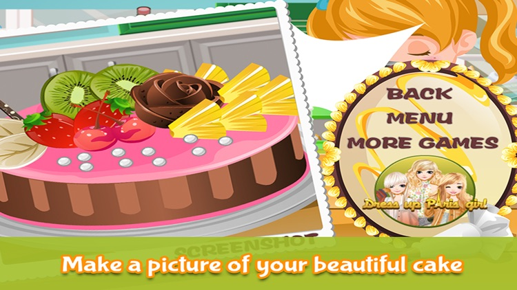 Cake Maker - Make your own recipe and make, bake and decorate your cake in this cooking academy! screenshot-3