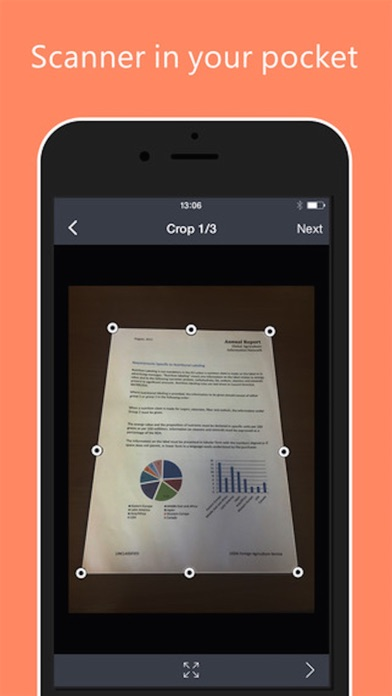Quick Scanner - scan documents, receipts and images into PDFs screenshot three