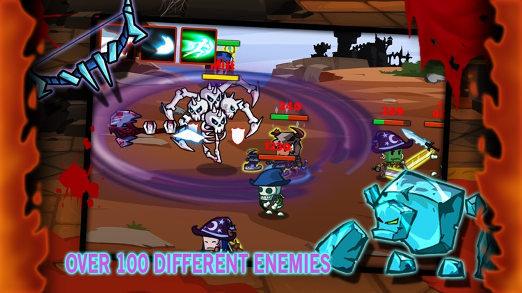 Heroes vs Monsters screenshot-4