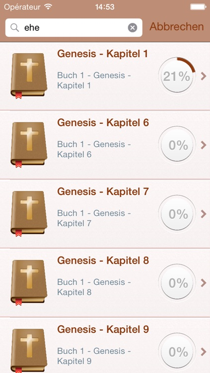 German Holy Bible Audio MP3 and Text - Luther Version screenshot-3