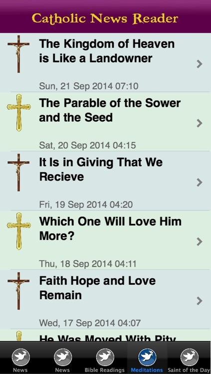 Catholic News Reader screenshot-3