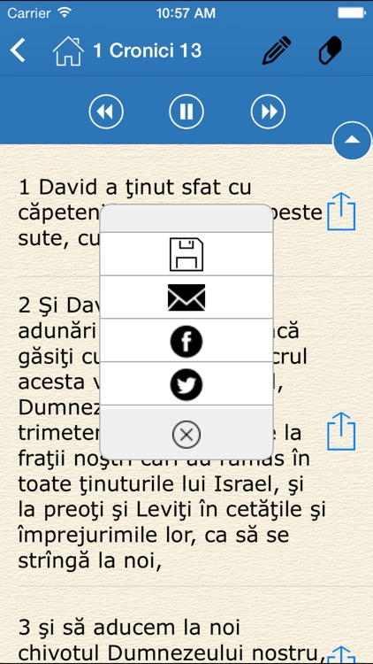 Audio Bible - Biblia Cornilescu (The Holy Bible in Romanian) screenshot-4