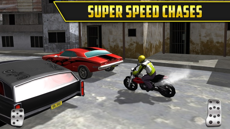 3D Motor-Bike Drag Race: Real Driving Simulator Racing Game screenshot-2