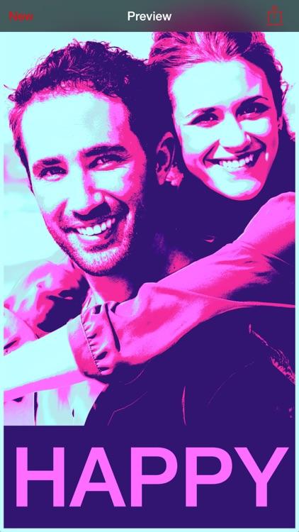 HOPE Poster Photo Filter screenshot-3