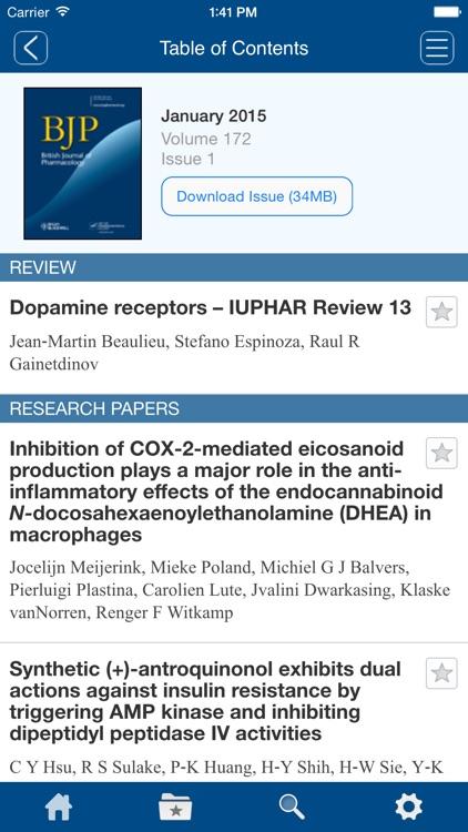British Journal of Pharmacology screenshot-4