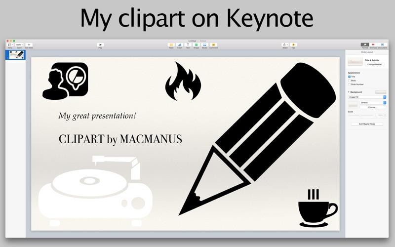 Clipart Screenshot