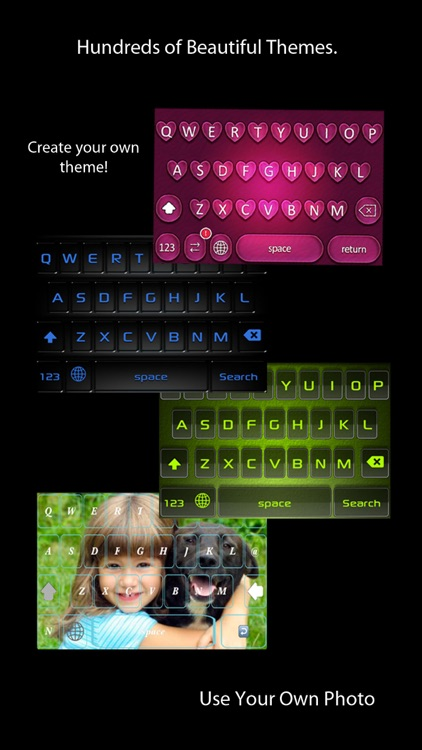 Fancy Keyboard: Custom Colors and Fonts