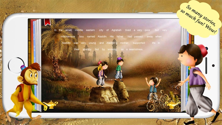 Aladdin and the Magical Lamp by Story Time for Kids screenshot-3