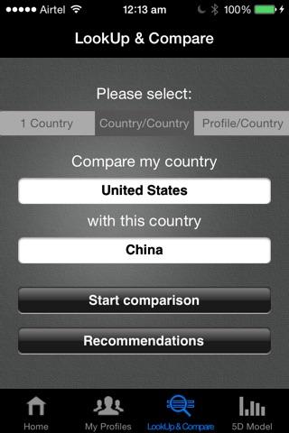 Screenshot of CultureGPS Professional
