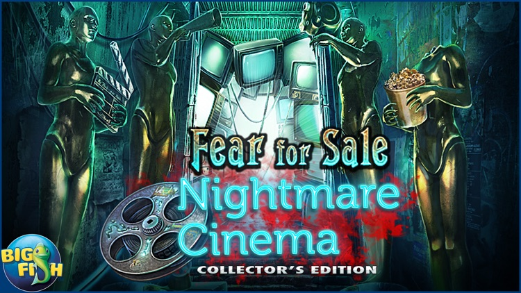 Fear For Sale: Nightmare Cinema - A Mystery Hidden Object Game (Full) screenshot-4