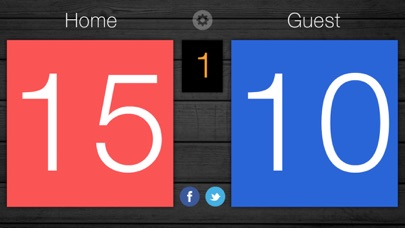 Screenshot for Scoreboard - Free Score Keeping on the Go in United States App Store