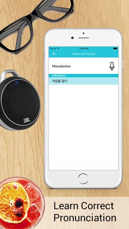 English - Korean Dictionary Free screenshot-3