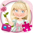 Princesse Faites glisser magique Puzzle & Photos - Princesses bloc coulissant Scie sauteuse Jeu icon