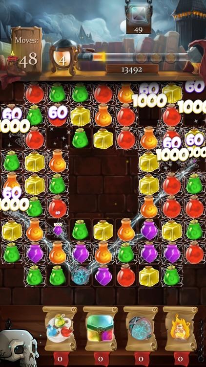 Witch Castle: Magic Wizards Match 3 screenshot-3