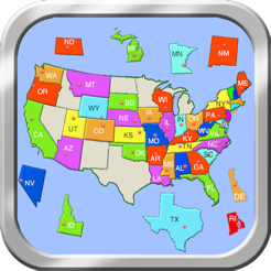United States Puzzle Map on the App Store