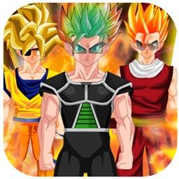 Goku DBZ Hero Dress-Up - Create your Own Super Saiyan Dragon-Ball Z Edition