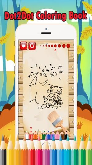 Animal connect dot games: colorear dot juegos gratis para los niños ...
