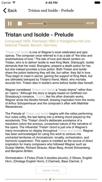 Informusic -Classical Music History & Composers screenshot-4