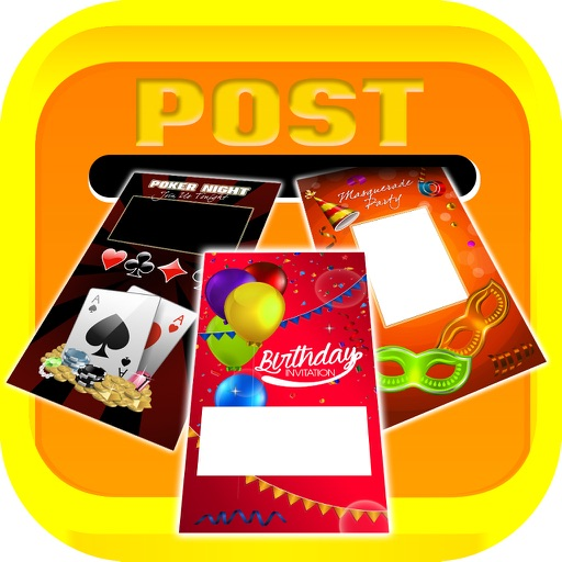 Invitation Card Designer – Beautiful eCards Collection for Birthday, Party and Wedding.s