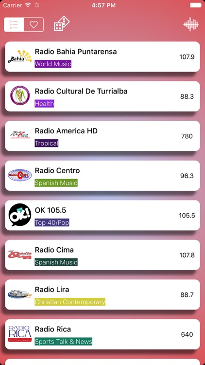 Radio Costa Rica - FM AM