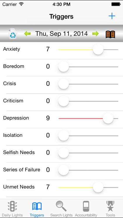 recoveryBox Addiction Recovery screenshot-3