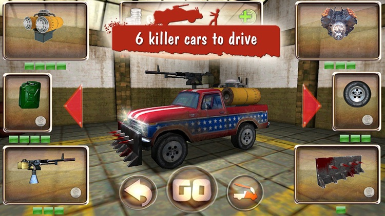 Zombie Derby: Race and Kill screenshot-0