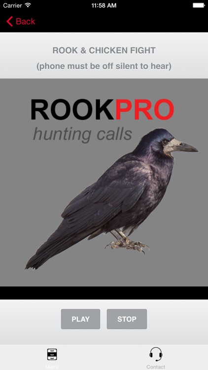 REAL Rook Hunting Calls - 10 REAL Rook CALLS & Rook Sounds! - ROOK eCaller - BLUETOOTH COMPATIBLE screenshot-3