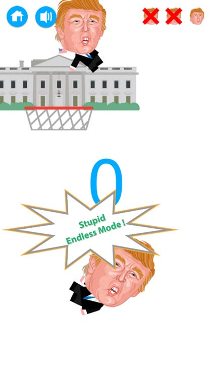Dump Trump Dump vs Basketball Messenger : FREE screenshot-4