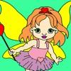 子供のぬりえ - プリンセス仁科