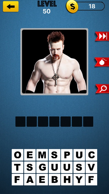 Wrestling Super Star Trivia - Discover The Name of Notorious Wrestlers and Divas screenshot-4