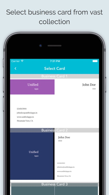 Business card maker app by sagar joshi business card maker app accmission Choice Image