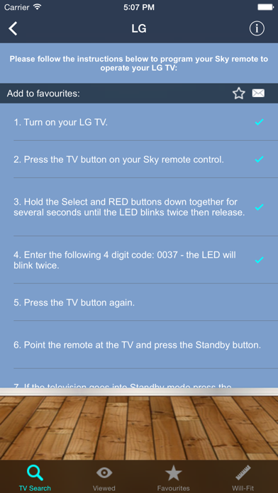 Tải về TV Remote Controller Codes cho Pc