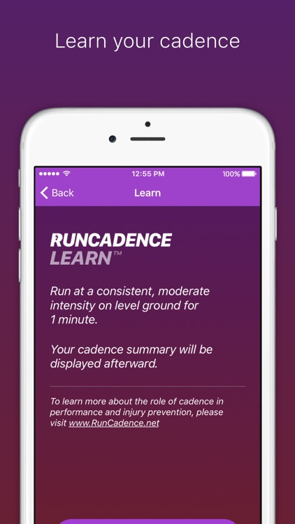 RunCadence Mobile screenshot-1