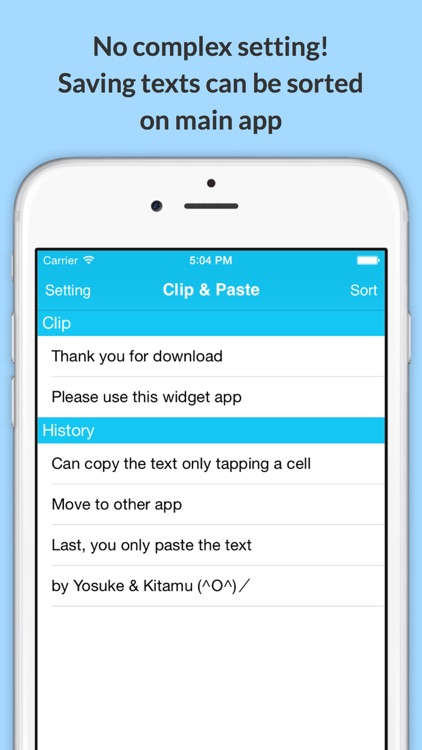 Clip & Paste - Copy and paste easily with widget