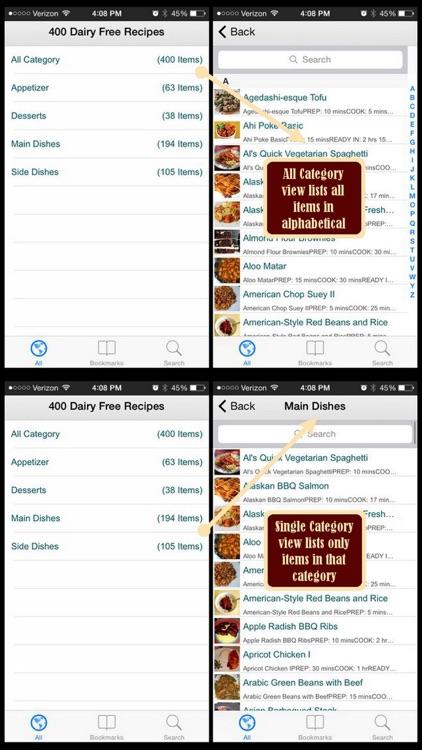 Dairy Free Recipes Plus+ screenshot-3