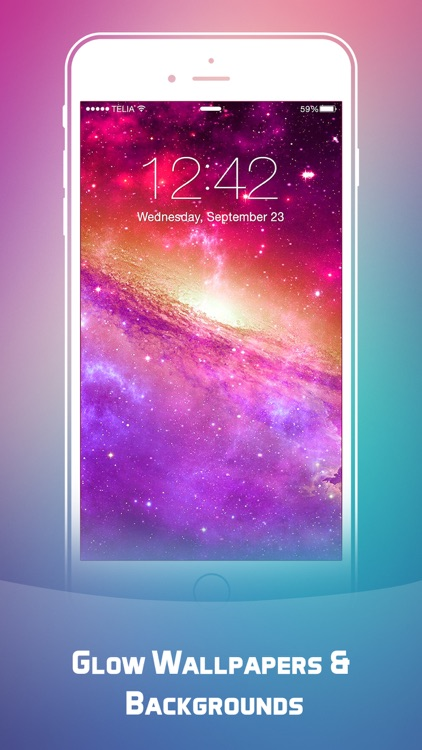 Glow Wallpapers & Backgrounds HD - Designer Themes Live Wallpapers & Dynamic Lock Screens